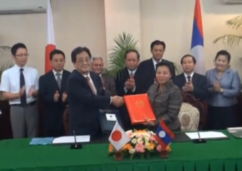 Japan grants 192 billion kip for two projects in Laos_02